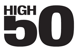High 50 logo